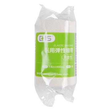 EHS 醫用繃帶,平紋,7.5cm×4.5m,D-002-B,10卷/包