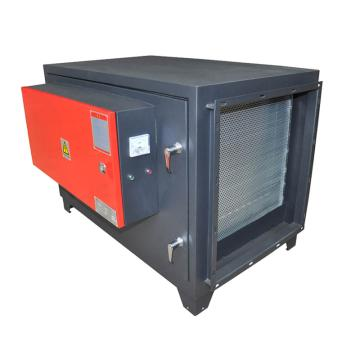 九洲普惠 低排靜電式油煙凈化器,PF-JD-8,220V,185W,除煙效率95%。含木架包裝