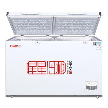 星星 518L商用卧式单温冰柜冷藏冷冻转换冷柜,BD/BC-518G,机械温控,常规大柜