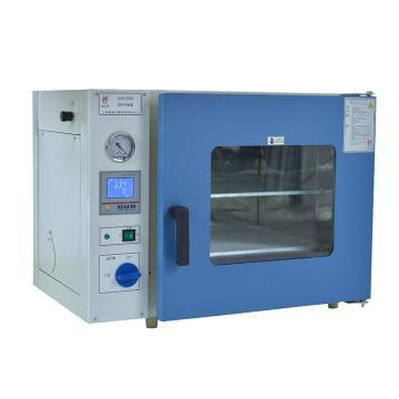 慧泰 真空干燥箱,液晶显示,控温范围:RT+10~250℃,载物托架:1pcs,工作室尺寸:300x300x275mm,DZF-6020