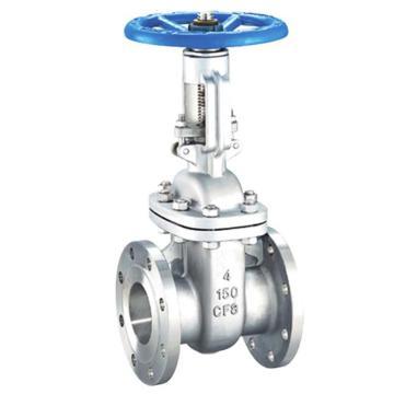 藍帕 鑄鋼法蘭閘閥,LPL13-803A7DOC1-100-1.6LJ,閥體鑄鋼材質,閥芯304材質