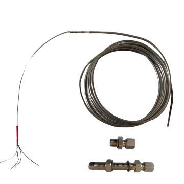 沈陽宇光 汽機壁溫耐磨型全鎧裝熱電偶,WRNK2-SD Φ6/5m/5m M16×1.5(標準) M16×1.5(標準)