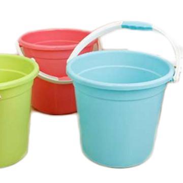 西域推荐 塑料桶,15L,不带盖,塑料柄, 加厚,红绿蓝随机发,指定颜色下单备注,售完即止