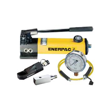 恩派克ENERPAC 液壓螺母破切器套裝,螺母范圍41-50mm,NC4150(含螺母破切器+泵+軟管+表+表座)