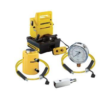 恩派克ENERPAC 双作用液压油缸,100ton ,200mm行程,CLRG1008+PUJ1401E+GP10S+GA2+HC7210*2