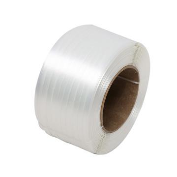 西域推薦 聚酯纖維打包帶,寬度:16mm,850m/卷,系統拉力:680kg,TC50,2卷/箱