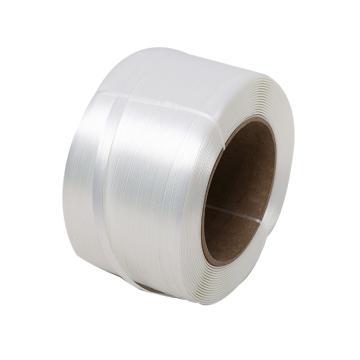 西域推薦 聚酯纖維打包帶,寬度:19mm,500m/卷,系統拉力:900kg,TC65,2卷/箱
