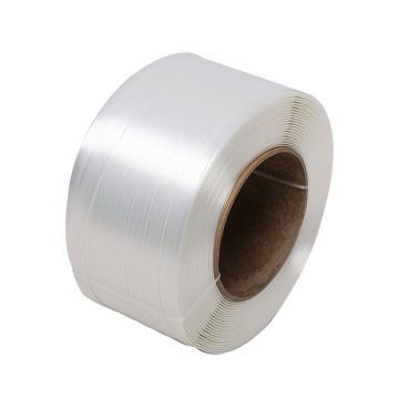 西域推荐 聚酯纤维打包带,宽度:25mm,500m/卷,系统拉力:1256kg,TC85,2卷/箱