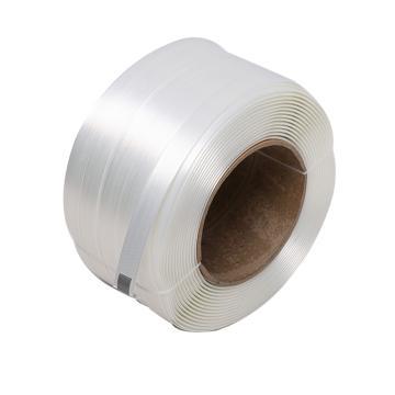 西域推薦 聚酯纖維打包帶,寬度:32mm,250m/卷,系統拉力:2600kg,TC105,2卷/箱