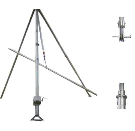 瑞鑫RUIXIN 三角立桿機,立15米120*4