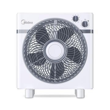 美的 臺式轉頁扇,KYT30-15AW,360°導風,4檔風速可調