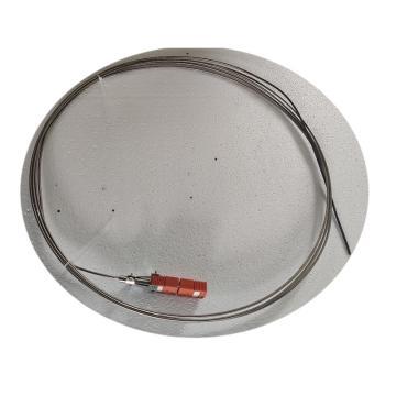 西域推薦 中色鎧裝熱電偶,N型 φ6*735mm 400-900℃ 采用扁平插頭 配備插座端2520材質