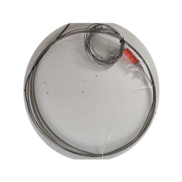 西域推薦 中色鎧裝熱電偶,N型 φ8*700mm 300-900℃ 采用扁平插頭 配備插座端2520材質2m延長線