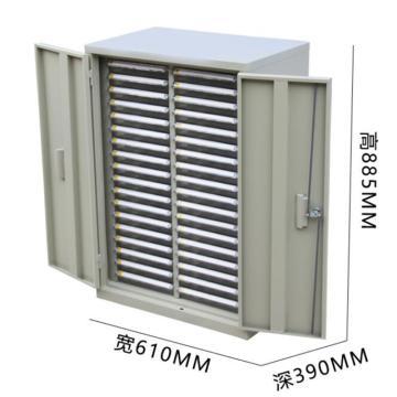 西域推薦 工具柜,36抽小號帶門 610*390*885mm