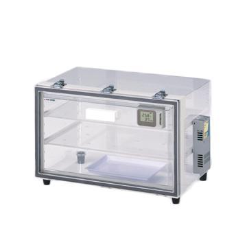 亞速旺 自動防潮箱(透明PMMA),電子防潮箱,~25%RH(受環境影響),OL-3S,1-5487-21