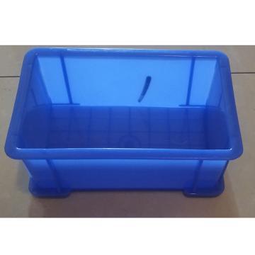 西域推薦 塑料盒(藍色),300mm*200mm*90mm