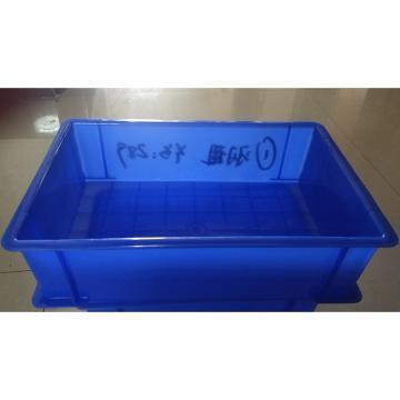 西域推薦 零件周轉箱(藍色),600mm*400mm*150mm