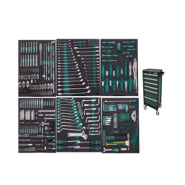世达 368件通用机修工具车组套 (包含95126-6抽工具车),09931