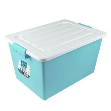 茶花 35L正方收納箱,28011T 隨機色 單位:個