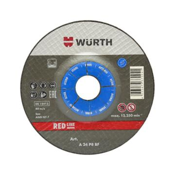 伍尔特WURTH,0669260116,打磨片-钢材-TH6.0-BR22.23-D115MM