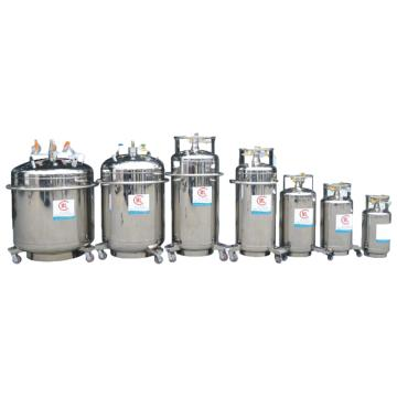 米兰 自增压式低温容器,自增压液氮罐,容积:50L,工作压力:<0.1Mpa,YDZ-50