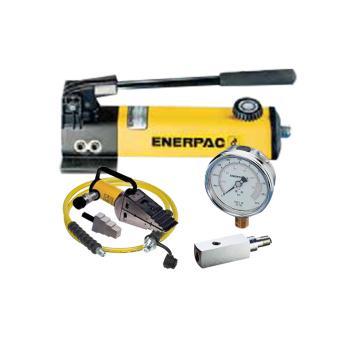 恩派克ENERPAC 法兰分离器一拖一套件,FSH14(含分离器*1+手动泵*1+3m软管*1+压力表*1+表座*1)