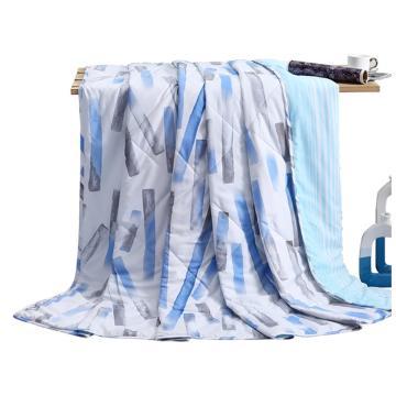 水星家紡 磨毛印花,DH奧韋拉夏被 150*200cm 單位:條