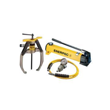 恩派克ENERPAC 自鎖緊式液壓拔輪器套件,10ton 3爪(含拔輪器+泵P392和油表表座油管),LGHS310H