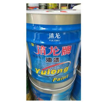 西域推薦 氯化橡膠面漆,黃色,15kg/桶