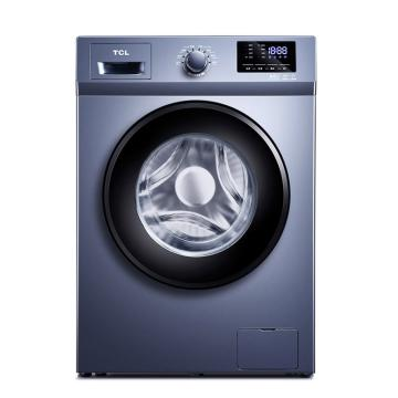 TCL 10KG變頻滾筒洗衣機,XQG100-P600B 星云藍 單位:臺
