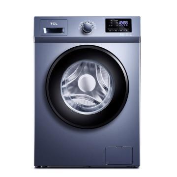 TCL 8KG變頻滾筒洗衣機,XQG80-P600B 星云藍 單位:臺