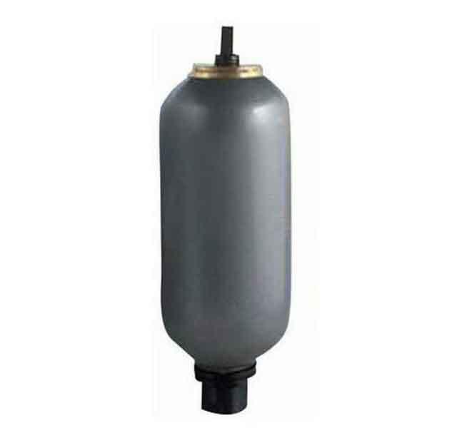 液壓囊式蓄能器,NXQA-1.6/31.5-L-Y容積1.6L,壓力31.5MPa