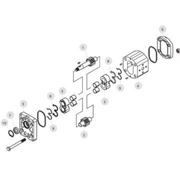 MARZOCCHI 齒輪泵,ALP2-D-34-P524C