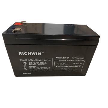 RICHWIN 蓄電池,DJW127 12V 7AH