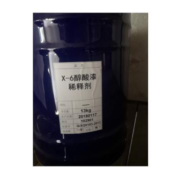 經建 醇酸漆稀釋劑,X-6,13kg/桶