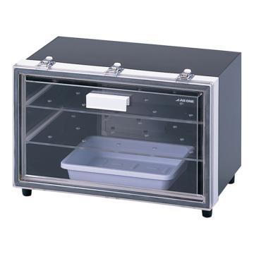 亞速旺 防潮箱(遮光型干燥劑式),干燥劑式防潮箱,保存怕光試劑,內寸:485×275×285mm,LL-SK,2-7937-02