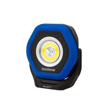 铁朗 便携泛光灯,LED超亮汽修维修工作灯,充电式双光源,WL6017,编号26581,单位:个
