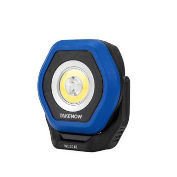 铁朗 便携泛光灯,LED超亮汽修维修工作灯,充电式双光源,WL6016,编号26580,单位:个