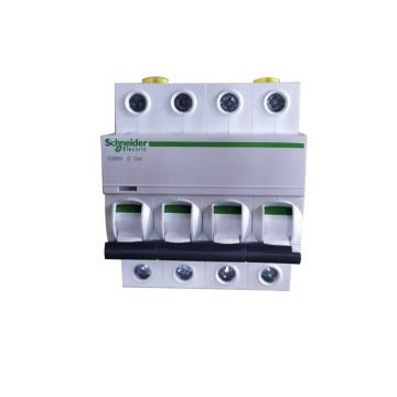 施耐德電氣 小型斷路器,IC65N 4P C10A