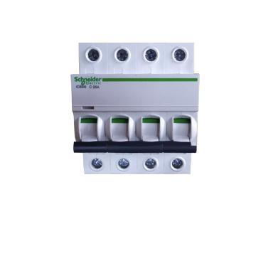 施耐德電氣 小型斷路器,IC65N 4P C25A