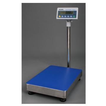 西域推薦 電子臺秤,最大量程:100kg 稱臺尺寸500*400mm 體積500(長)*400(寬)*950(高)mm ,TC100KA
