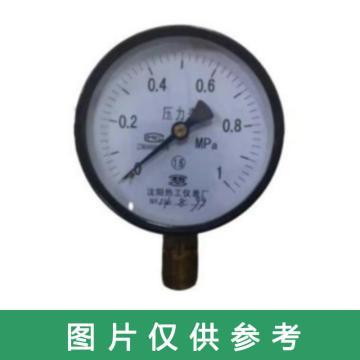 熱工 壓力表,Y-100 M20*1.5 1.6MPa 帶第三方檢測