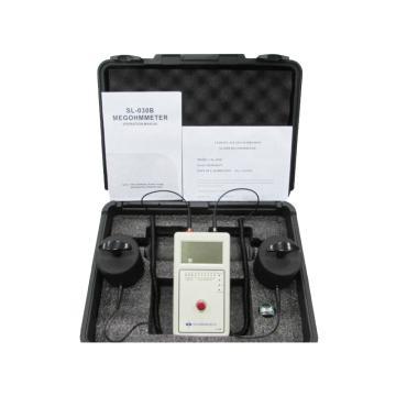 西域推薦 數顯重錘表面電阻測試儀防靜電臺墊地板檢測儀阻抗測試儀,數字顯示+LED SL-030B