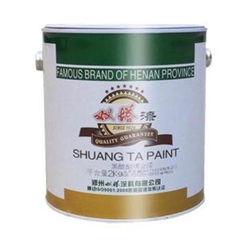 雙塔 醇酸調和漆,淡綠,國標G02,17kg/桶