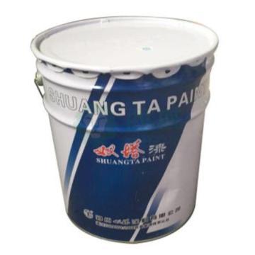 雙塔 丙烯酸聚氨酯漆,RAL9006灰,國標B03,18+3kg固化劑/組