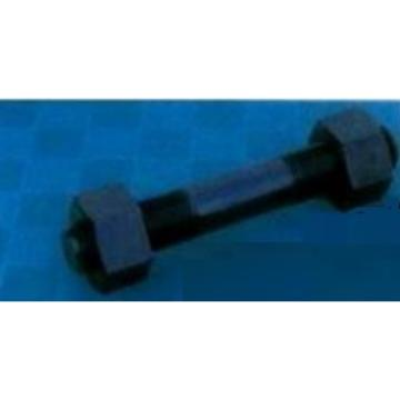 西域推薦 雙頭螺栓帶螺母,M8*80mm