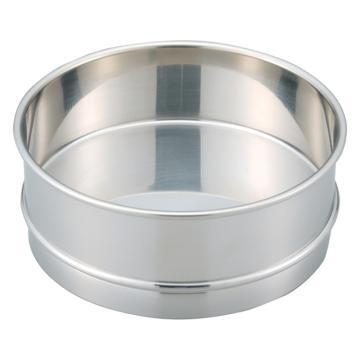 西域推荐 不锈钢标准筛子用中间托盘,实用新型,内径φ150mm (1个) 5-5389-38