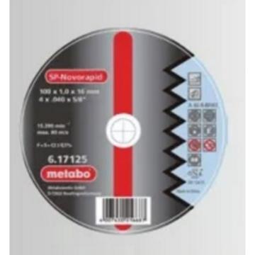 麥太保 不銹鋼切割片,直徑100mm,內徑16mm,厚度1mm