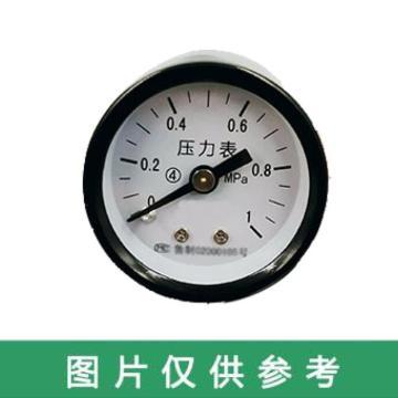 西域推薦 壓力表,Y-40 軸向0-1MPa 1分管 螺紋M10*1