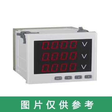 德泰 智能数显电测仪表电压表,DTZ 24 规格450V(AC/DC 80-270V)